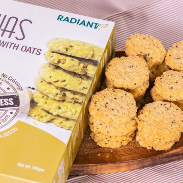 Chiaseed Cookies With Oats...