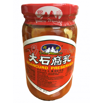 BEANCURD PERSERVED WHITE 腐乳