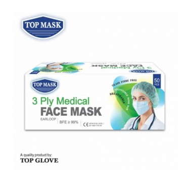 Top Glove 3 PLY Medical Mask